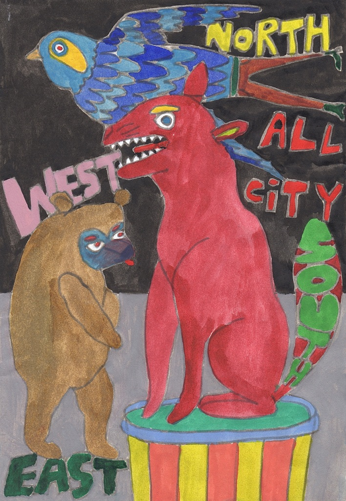 ALL CITY NORTH:SOUTH:EAST:WEST