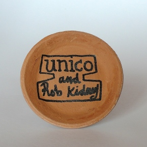 RoRob Kidney X unico- hand painted potsb Kidney X unico- hand painted pots