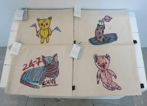 Large pouches-4 designs