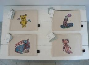Small pouches-4 designs