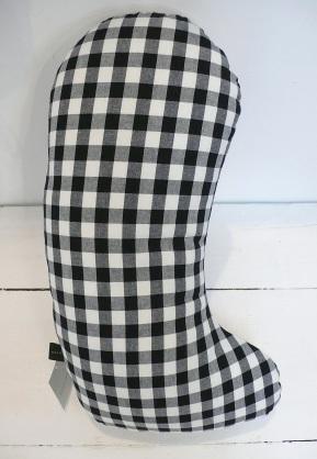 Sock dog cushion-back