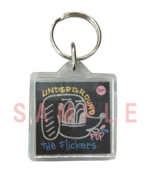 Key ring-THE FLICKERS UNDERGROUND POP