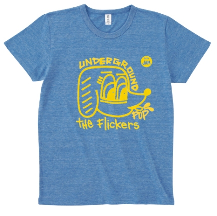 Limited t-shirt THE FLICKERS UNDERGROUND POP