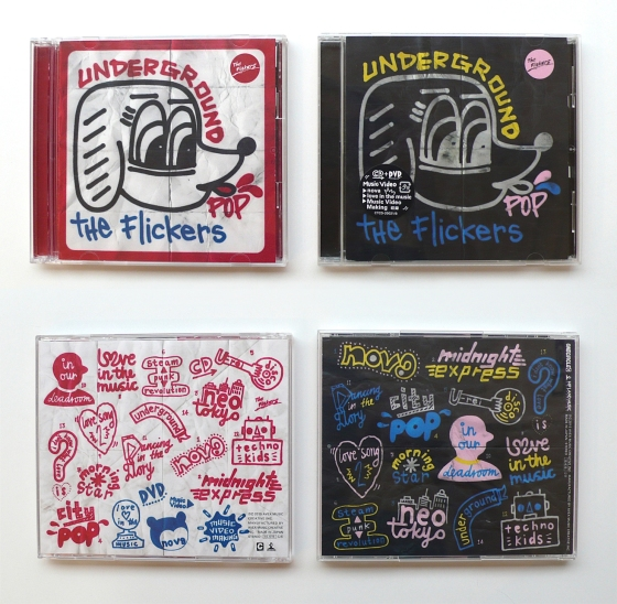 The Flickers-Underground Pop