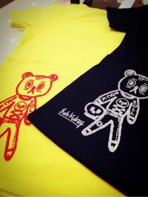Bear Logo t-shirt S/S 2015