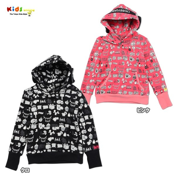 Rob Kidney X CHUBBYGANG 'Headphones hooded sweatshirt' A/W 2015