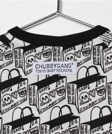 ROB KIDNEY X CHUBBYGANG 'SHOPPING BAG' ROMPERS
