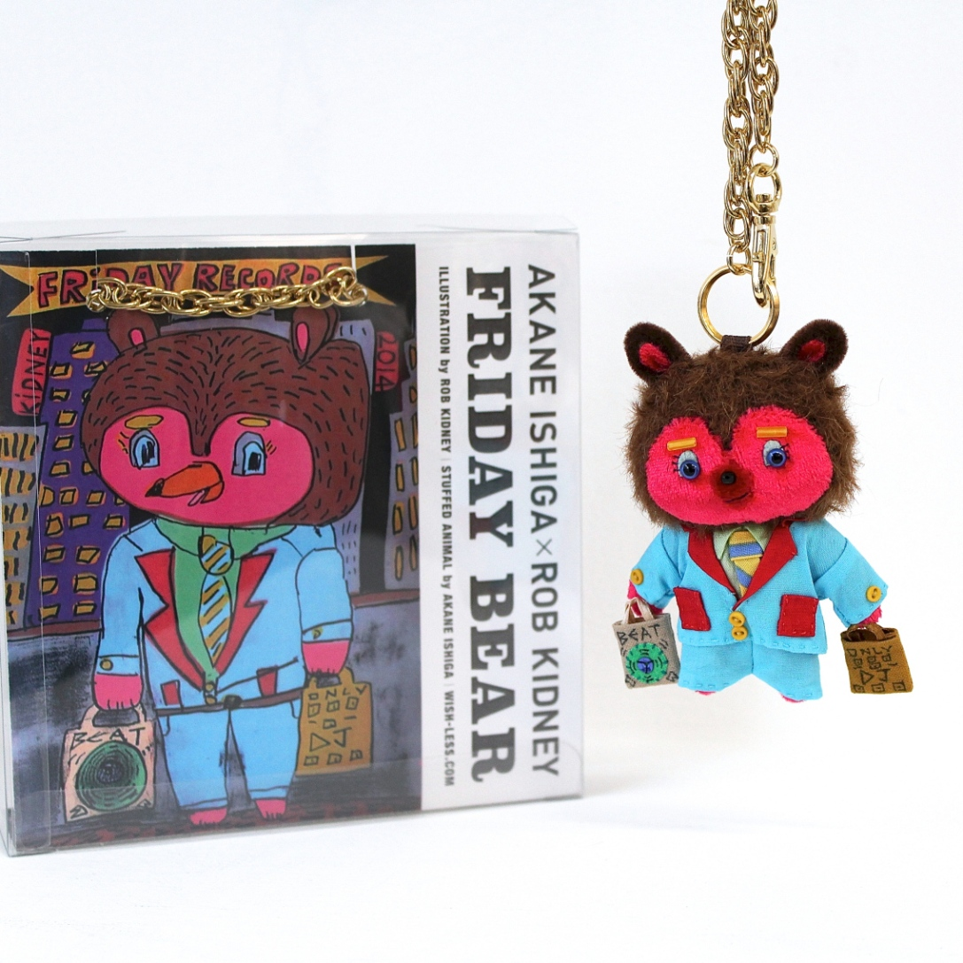 "AKANE ISHIGA×ROB KIDNEY ""Friday Bear"""
