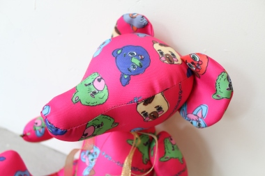 Handmade Teddy Bear - Rob Kidney × wondimension toy's