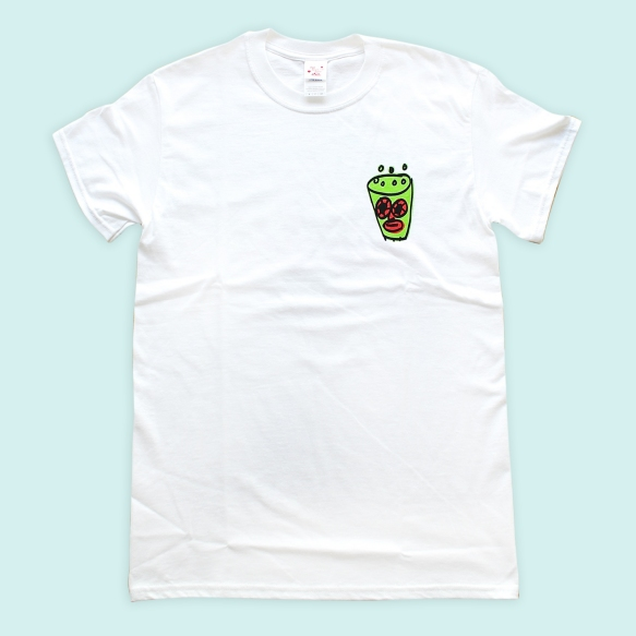 Red Town Paint × Rob Kidney 'Green tea Hi' T-Shirts